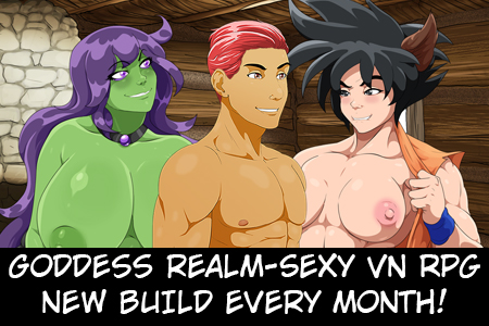 Goddess Realm Build 2 Out Now on Sexyverse Games Patreon