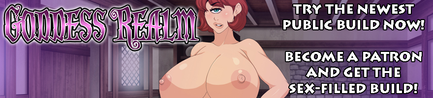 Goddess Realm NSFW Visual Novel RPG on Sexyverse Games Patreon