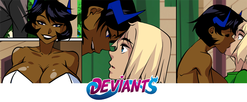 Deviants NSFW Comic Updates Every Monday on Sexyverse Comics